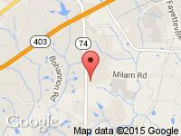 Map of Dogwood Auto Sales at 8480 Senoia Road, Fairburn, GA 30213