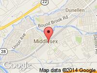Map of Absolute Auto at 245 Mountain Ave, Middlesex, NJ 08846