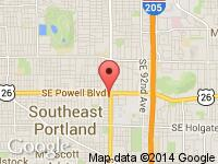 Map of EASTPORT AUTOS at 3565 SE 82ND AVENUE, Portland, OR 97266
