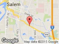 Map of 3G Auto Sales at 1180 Ford St. SE, Salem, OR 97302