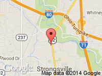 Map of Diesels Direct at 11800 Pearl Road, Strongsville, OH 44136