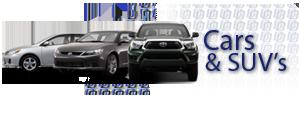 Cars & SUV's