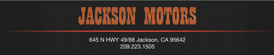 Used Cars Jackson | Lodi | Jackson Motors