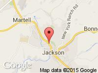 Map of Jackson Motors at 645 N HWY 49/88, Jackson, CA 95642