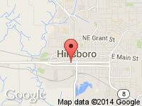Map of STRICK FAMILY AUTO W/S LLC at 250 SW BASELINE, Hillsboro, OR 97123