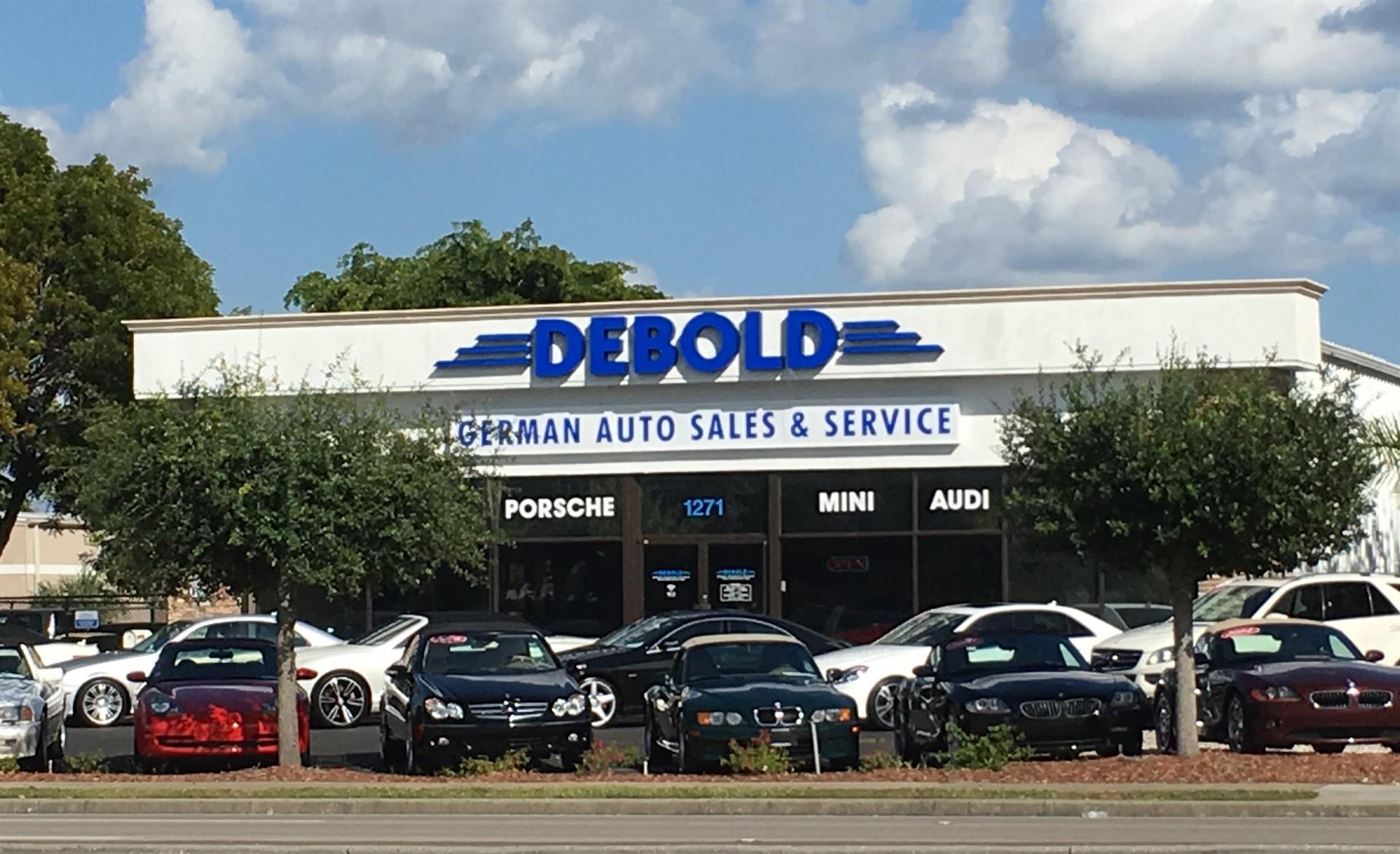 Car Dealerships Naples Fl >> Debold German Auto Sales Service