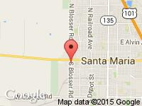 Map of Timo's Auto Sales LLC at 218 S Blosser Rd, Santa Maria, CA 93458