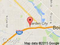 Map of Boise Auto Clearance at 5300 W Fairview Ave, Boise, ID 83706