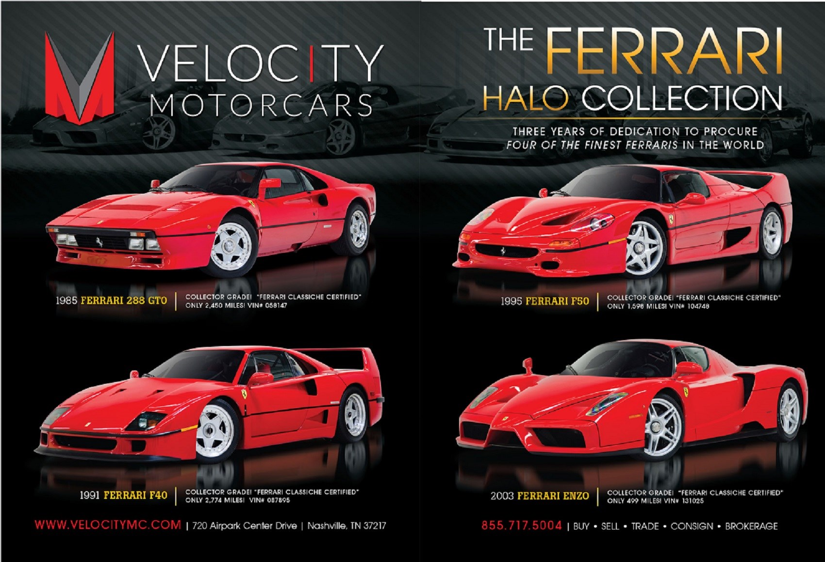 Velocity Motorcars Halo Collection