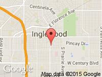 Map of BallersLA at 700 South La Brea Avenue, Inglewood, CA 90301