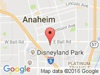 Map of Impulse Automotive Group at 1300 S. Anaheim Blvd. Suite A, Anaheim, CA 92805