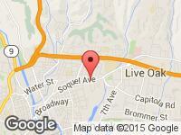 Map of Sunset Auto Sales at 1800 C Soquel Ave, Santa Cruz, CA 95062