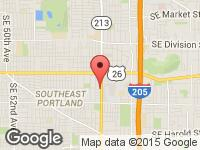 Map of Auto House LLC at 3905 SE 82nd Ave, Portland, OR 97266