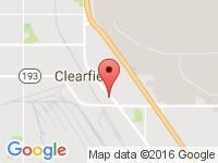 Map of Chariot Auto Sales at 562 S State St., Clearfield, UT 84015