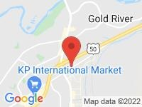 Map of MJK Auto Sales at 3324 Monier Cir 7, Rancho Cordova, CA 95742