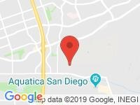 Map of RTA Auto Sales at 2375 Paseo De Las Americas, San Diego, CA 92154
