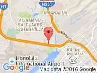 Map of Car Depot at 2815 Kilihau St., Honolulu, HI 96819