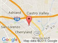 Map of HOT WHEELS R US at 21221 Mission Bl, Hayward, CA 94541