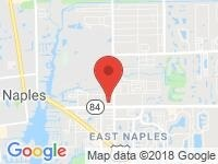 Map of Auto Europa Naples at 40 Goodlette-Frank Rd. N, Naples, FL 34102