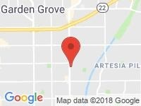Map of Uncle Mike's Autos at 707 N Harbor Blvd., Santa Ana, CA 92703