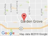 Map of Cali Auto Experts at 10552 GARDEN GROVE BLVD, Garden Grove, CA 92843