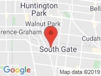 Map of Pulsar Motors at 8727 Long Beach Blvd., South Gate, CA 90280