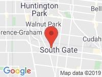 Map of Pulsar Motors at 8727 Long Beach Blvd., South Gate, CA 90280