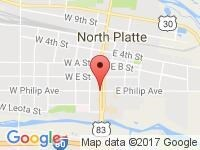 Map of Right Motors at 109 W Philip Ave, North Platte, NE 69101