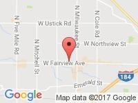 Map of Summit Motors at 8520 W Fairview Ave., Boise, ID 83704