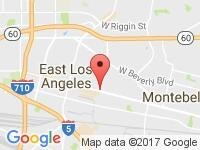 Map of A&M Auto Sales, Inc. at 5747 Whittier Blvd, Los Angeles, CA 90022
