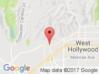 Map of Specialty Car Collection at 8929 Sunset Blvd., West Hollywood, CA 90069