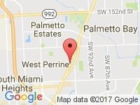Map of Redline Auto Brokers Inc at 17526 S Dixie Hwy, Miami, FL 33157