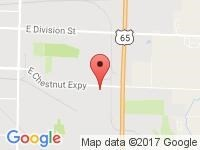 Map of Motorcars International at 3015 E Cairo Street, Springfield, MO 65802