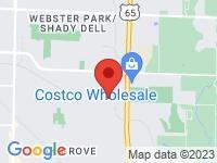 Map of Motorcars International at 3015 E Cairo Street, Springfield, MO 65802