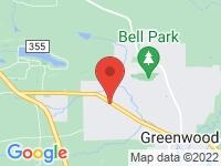 Map of Keith Glass Motors at 900 E Center St, Greenwood, AR 72936