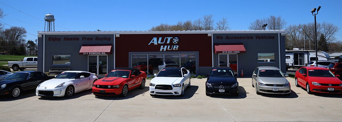 Used Cars Dealership >> Used Car Dealer In Rochelle Il The Auto Hub