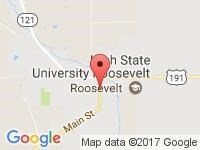 Map of Mark Down Motors at 55 E HWY 40, Roosevelt, UT 84066