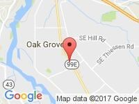 Map of Velocity Auto Sales at 15555 SE McLoughlin Blvd, Milwakie, OR 97267