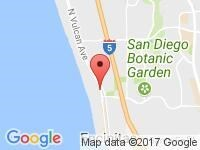 Map of EZ Cars 101 Enc, LLC at 140 N Coast Hwy 101, Encinitas, CA 92024