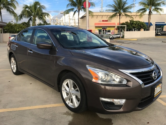 The 2014 Nissan Altima 2.5