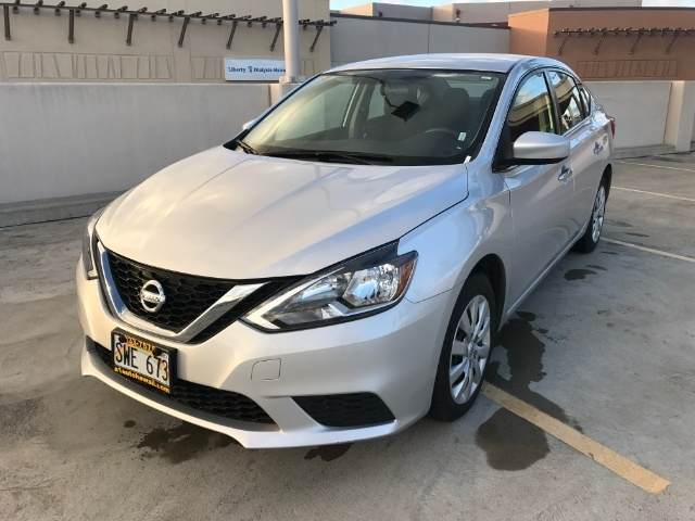 The 2016 Nissan Sentra SV