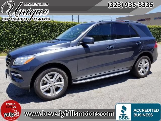 2015 Mercedes-Benz ML 350 - Photo 1 - Los Angeles, CA 90019