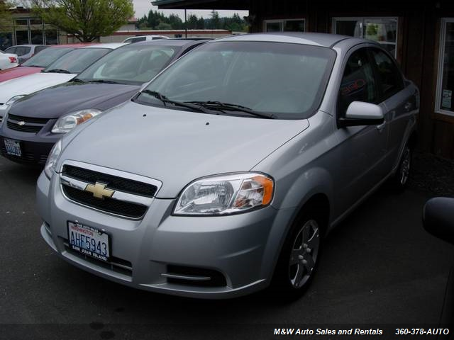 2010 Chevrolet Aveo LS - Photo 1 - Friday Harbor, WA 98250