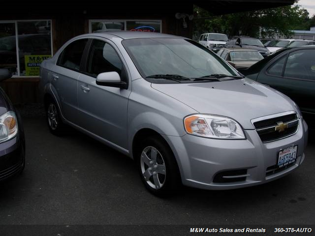 2010 Chevrolet Aveo LS - Photo 2 - Friday Harbor, WA 98250