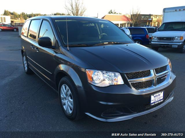 2016 Dodge Grand Caravan American Value Package - Photo 2 - Friday Harbor, WA 98250