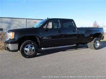 2008 GMC Sierra 3500 SLT 4X4 Crew Cab Long Bed Dually Truck