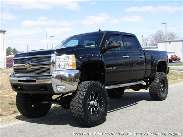 2008 chevrolet silverado 2500 hd ltz 6 6 duramax diesel lifted 4x4 sold. Black Bedroom Furniture Sets. Home Design Ideas