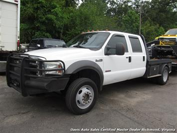 2005 Ford F-450 Super Duty XLT 4X4 Crew Cab Long Bed DRW Western Hauler Tow Truck