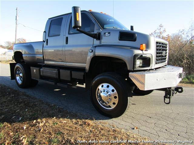 2004 Chevrolet Kodiak Topkick C7500 Diesel 4X4 Monster CAT Dually - Photo 4 - Richmond, VA 23237