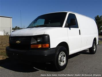2008 Chevrolet Express G 2500 Cargo Commercial Work Van
